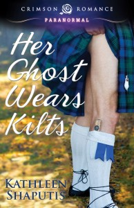 Her Ghost Wears Kilts, by Kathleen Shapuits